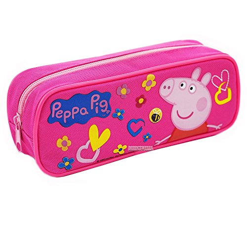 Peppa Pig Authentic Licensed Pencil Case (Pink)