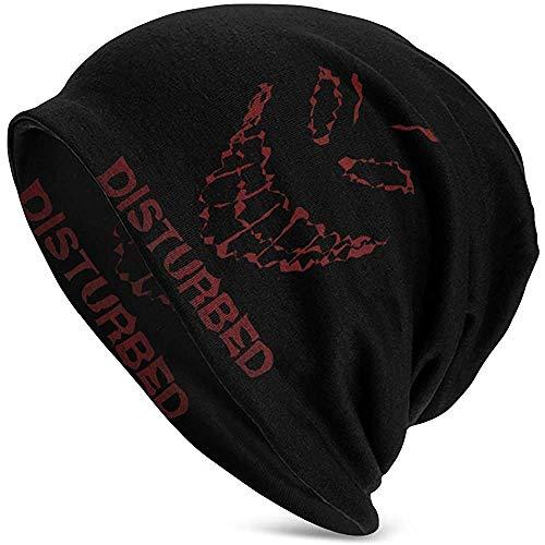 Mathillda Gestoorde mannen wintermuts Warme en comfortabele zachte en krukende muts Casual Hat-367-2Q