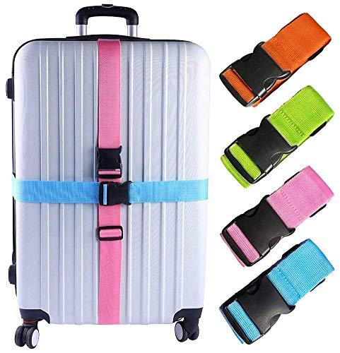 KAEHA S-IT-001-13 - Juego de 4 maletas de viaje para equipaje, talla única, multicolor