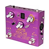 JOYO Vocal Lab R-16 R Series Vocal Harmony Effect Pedal 9 Vocal Harmony Multi Effects fit with...