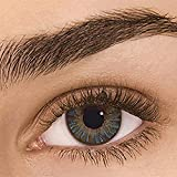 VPASS Contact Colored for Eyes, Eyes Color Eyes Cosmetic Makeup Eye Shadow Costume Party Cosplay Accessories_Makeup Gifts for Girls Womens (J)