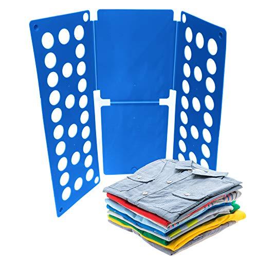 XunHe Carpeta de ropa para niños, tabla plegable para niños, organizador de ropa para niños, pantalones de vestir, toallas de lavandería, tabla plegable, ropa de tabla plegable para ropa