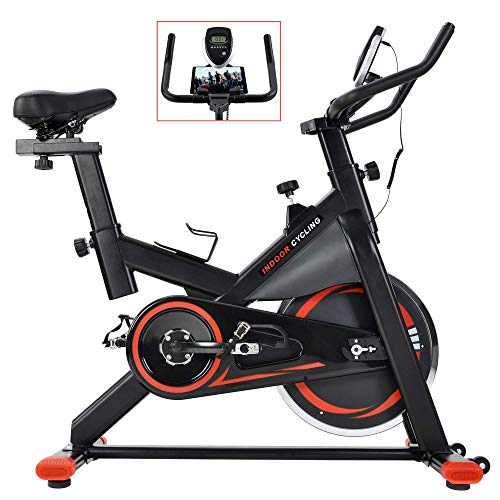 Schwinn A.C. Sport Indoor Cycle Bike with Carbon Blue Belt Drive