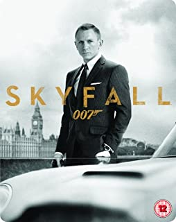 Skyfall - Limited Edition Steelbook (Blu-ray + DVD + Digital Copy) (Exclusive to Amazon.co.uk) (B00B5W9I5K) | Amazon price tracker / tracking, Amazon price history charts, Amazon price watches, Amazon price drop alerts