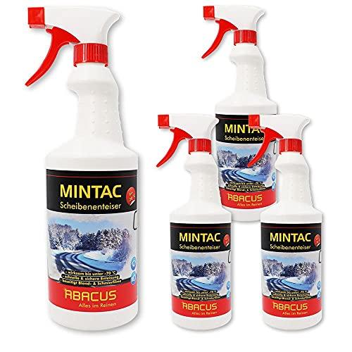 ABACUS Espray anticongelante listo para usar, hasta 70 °C, 4 unidades de 750 ml (7755.4)