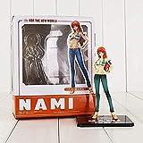 14cm Anime One Piece Nami Figura Nami para los Juguetes del Nuevo Mundo Modelo de Juguete de Belleza