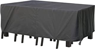 Patio Furniture Covers Rectangular, ERAY Lightweight OutdoorTable and Chair Set Cover Waterproof for Garden Furniture, Win...