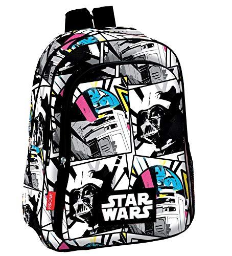 518EqYi3J6L - Star Wars Mochila Infantil Escolar, niño