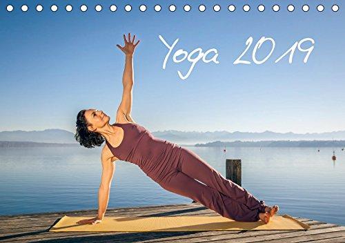 Yoga (Tischkalender 2019 DIN A5 quer): Meditatives Yoga am See (Monatskalender, 14 Seiten ) (CALVENDO Sport)