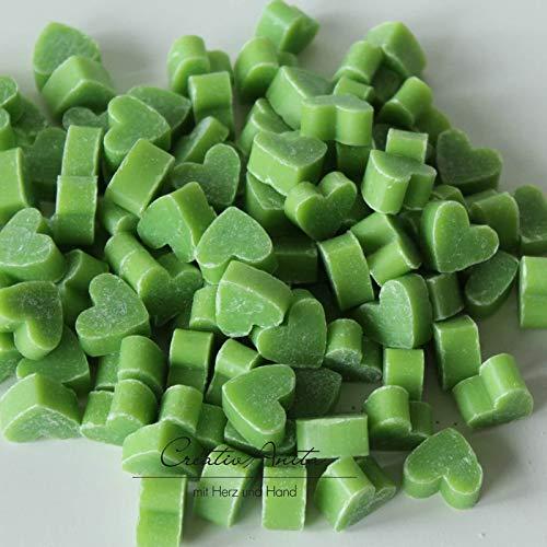 Florex Lot de 100 mini savons au lait de brebis en forme de mini cœur