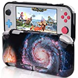 CAGOS Protective Case Compatible with Nintendo Switch Lite, Hard Shell TPU Grip Skin Case Cover Shock-Absorption and Anti-Scratch Non-Slip Travel Case Nintendo Switch Lite Accessories - Nebula