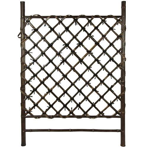 Japanese Wood Lattice Panel Trellis