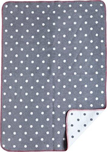 Julius Zöllner La couverture bébé à pois couverture douce couverture bébé, gris
