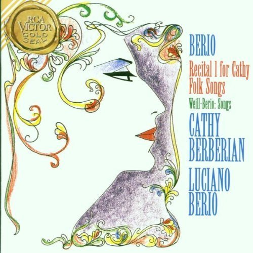 Berio: Recital I for Cathy / Folk Songs / 3 Songs by Kurt Weill Import Edition by Berberian, Berio, London Sinfonietta (1995) Audio CD