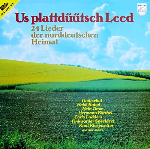 Us plattdüütsch Leed - 24 Lieder der norddeutschen Heimat [Vinyl Doppel-LP] [Schallplatte]