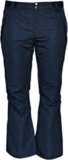 Snow Country Outerwear Womens Plus Size Snow Ski Pants Reg and Short