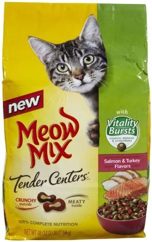 Meow Mix Tender centers with Vitality Burst – 3LB by Meow Mix