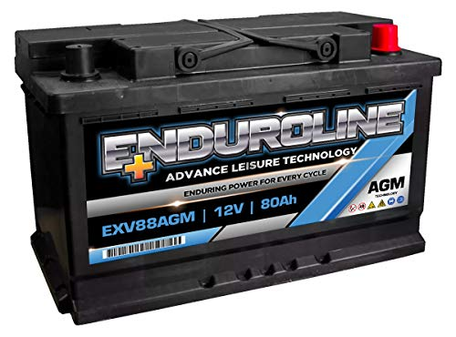 EXV88AGM Enduroline AGM Leisure Marine Accu 12V 80Ah