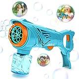 Mini Tudou Large Bubble Guns for Kids, Electric Bubble...
