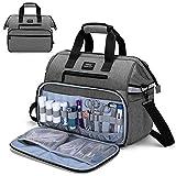 CURMIO Medical Bag, Nurse Supplies Bag with Padded Laptop Sleeve...