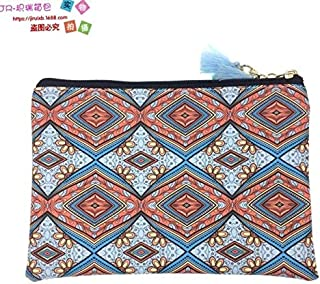 iBag's European And American National Style Women Cloth Bag Fashion Geometry Printing Hand Bag Student Girl Women Gift Wholesale