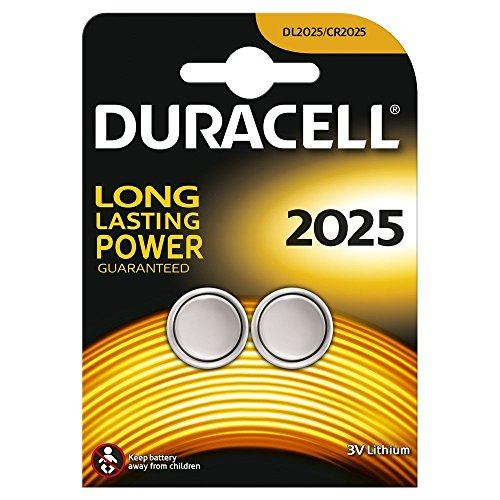 Set 6 Batterien Duracell CR2025 – 3 Blister a 2 Batterien – Lithium 3 V