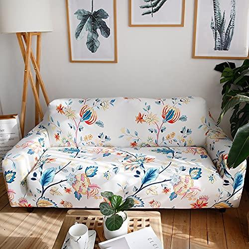 WXQY Funda elástica para Muebles,Funda para sofá elástica para Sala de Estar,Funda para sofá para sillón,Funda para sofá Todo Incluido para decoración del hogar A3 1 Plaza