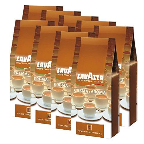 Lavazza Kaffee Crema E Aroma, gemahlen, 9 x 1Kg Packung