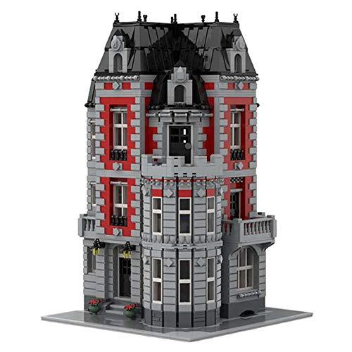 4007 PCS Building Block Corner Tiendas De Lujo De Estilo Europeo, Puzzle Técnica Técnica Super Racing RC Kit, Modelo De Bloques De Construcción Compatible Con LEGO, Juguetes De Ladrillos Para Adulto