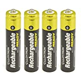 Lloytron- 4pk Nimh Accuready Battery - Aaa 800mah Ready