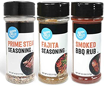 Amazon Brand Happy Belly Grilling Spices Set