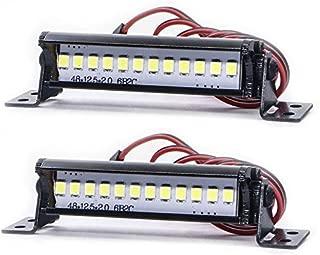 مصباح سيارة Rc من Ronshin Crawler للتسلق محوري LED RC كشاف على الطرق الوعرة على شكل قبة لدراجة SCX10 KM2