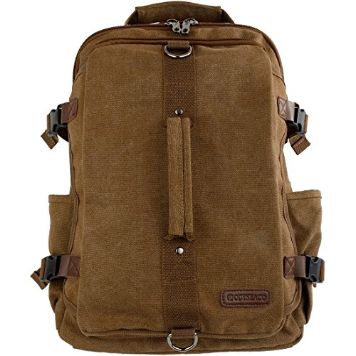 Odyseaco – Montera Vintage Canvas Rucksack Backpack