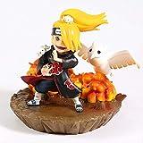 LICCC Naruto Shippuden Akatsuki deidara q Versión 13 cm Figura de PVC Muñeca Modelo de colección Modelo Juguete Creativo Distancia de Dibujos Animados Decoración de la Familia