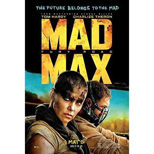 MAD MAX FURY ROAD 11.5x17 Original Promo Movie Poster Tom Hardy Charlize Theron