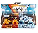 Monster Jam 2020 Fire and Ice 2-Pack 1:64, Horse Power and Octonber