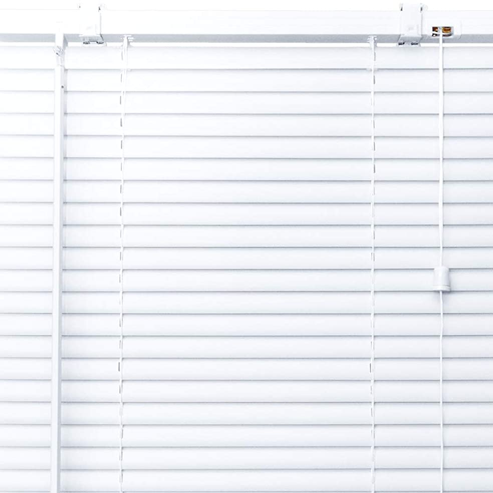 降ろす実行可能大きさプラスチック ブラインド 【幅160cm×高さ102cm】 ホワイト/幅141~160cm×高さ102~150cm から選べる