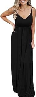 neveraway Womens Solid-Colored Flyaway Beachwear Sling Oversize Maxi Long Dress