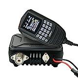 QYT KT-WP12 Mini Radio Mobile 25W 200 Canali VHF UHF 136-174MHz 400-470MHz Ricetrasmettitore Dual Band Car Ham Radio