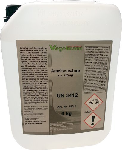 Ameisensäure 75% 6 kg