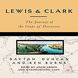 Lewis & Clark audiobook cover art