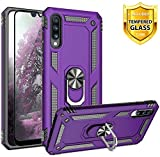 TJS Phone Case for Samsung Galaxy A50 2019, with [Full Coverage...