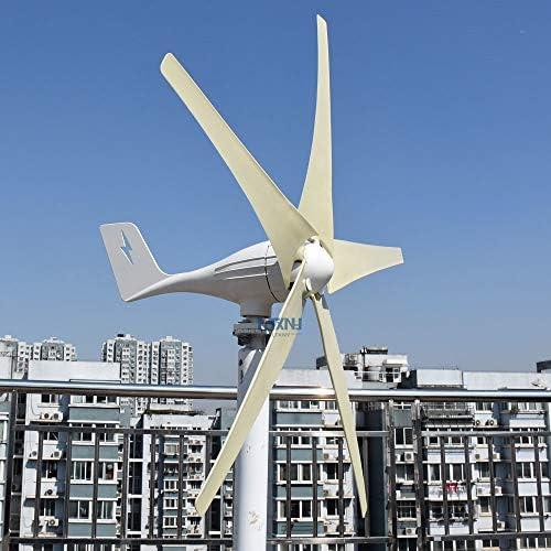 NINILADY 600W 500W 400W Wind Turbine 12v 24v 48v Horizontal Axies Wind Generator with MPPT Controller product image