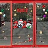 Janly Clearance - Adhesivo decorativo para pared, diseño de ventana