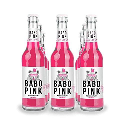 BABO pink Biermix 18 x 0,33 L