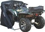 Motorradgarage Faltgarage Motorrad Roller Moped Garage Schutzplane Zelt Schwarz XXL