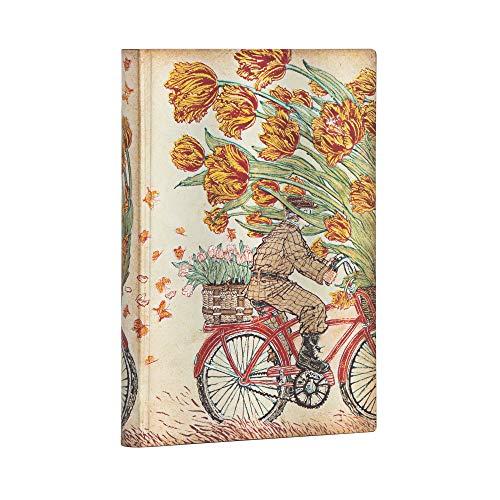 Paperblanks Cuaderno de tapa blanda Flexis Mitten im Leben con Yuko | Lined | Midi (130 × 180 mm)