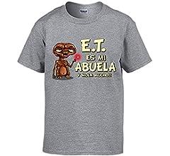 Camiseta Parodia E.T. Esta es mi Abuela y Mola Mucho ET El ...