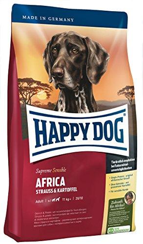 Happy Dog Supreme Africa 12,5 kg - 2 x 1 kg Gratis
