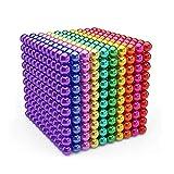 Bola mágica 3D, Magic Building Ball Toys, 1000 Piezas 5 mm mágico Juguetes Descompresión Desarrollo Inteligente Juguetes Regalo Ideales, para le Desarrollo Aprendizaje y Alivio del estrés Juguetes